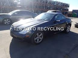 mercedes slk280 parting out 2007 mercedes slk280 stock 5135gy tls auto recycling