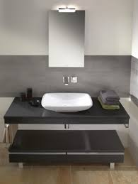 bathroom ideas ceramic bowl vessel modern black bathroom vanity