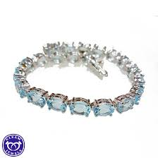 silver topaz bracelet images Excellent quality eyecatching emerald cz silver bracelet gleam jewels jpg