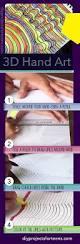 Cool Art Project Ideas by Super Cool 3 D Hand Art 3d Hand Fun Diy And Cool Art