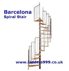 barcelona spiral stairs from ladders999 lansford access ltd