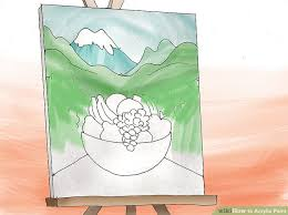 3 ways to blend acrylic paint wikihow how to acrylic paint with pictures wikihow