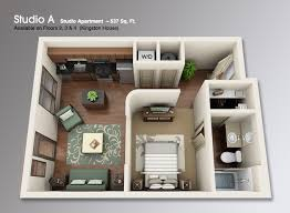 Studio Apartment Floor Plans Studio Apartment 3d Floor Plans Google Search Floor Plans