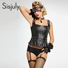 aliexpress buy sisjuly vintage corsets plain spandex