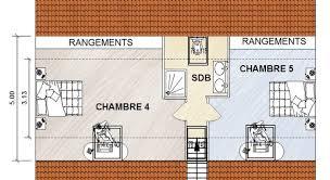 salle de bain dans chambre sous comble deux chambres sous combles avec salle de bain commune
