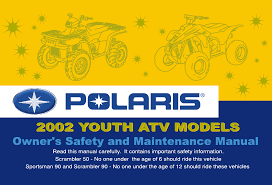 polaris offroad vehicle sportsman 90 pdf owner u0027s manual free