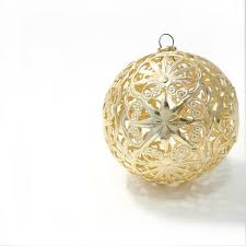 gold filigree ornament gold tree ornament western