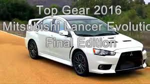 mitsubishi lancer evolution 2016 top gear 2016 mitsubishi lancer evolution youtube