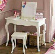 Girls Vanity Table And Stool Girls Dressing Table And Stool Ebay