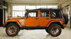 jeep wrangler orange here u0027s what 21k worth of accessories looks like on a jeep wrangler