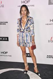 aimee song at harper u0027s bazaar 150 most fashionable women party in