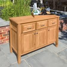 Teak Outdoor Cabinet Buffet Tables Outdoor Teak Granite Tops Country Casual