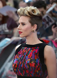 european hairstyles 2015 more pics of scarlett johansson fauxhawk 1 of 14 short