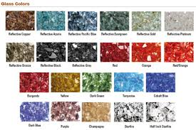 Starfire Fire Pits - fire glass colors for oriflamme fire tables available from rich u0027s
