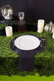 spider webs halloween decorations aliexpress com buy 1 pcs lace black spider web halloween