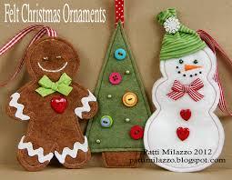 felt christmas ornament patterns