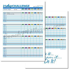 Meal Plan Excel Template 21 Day Fix Review Calendar Meal Plan Meal Tracker