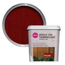 red exterior spray paint diy