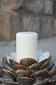 Seashell Centerpiece Ideas by Best 25 Seashell Candles Ideas On Pinterest Shell Candles