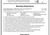 cna resume sample with experience resume format for students with