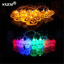 halloween outdoor lights popular skull string lights buy cheap skull string lights lots
