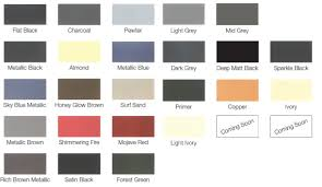 light brown paint color chart pewter spray paint thermacure colourchart splendid here view our