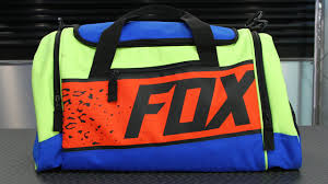 fox motocross gear bags fox racing 180 divizion duffel bag motorcycle superstore youtube