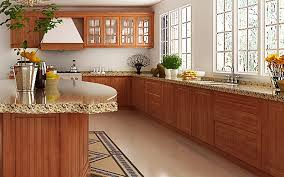 kitchen cabinet design kenya op14 pvc09 transitional cherry wood grain pvc kitchen cabinet