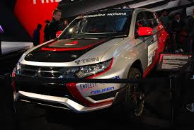 rally truck 2017 mitsubishi outlander phev rally truck i by hardrocker78 on