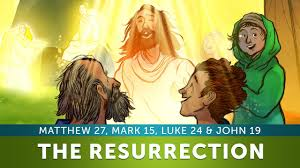 the resurrection easter story sunday lesson for kids