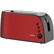 Breville A Bit More 4 Slice Toaster Ronson Rta640red Red 4 Slice Toaster At The Good Guys