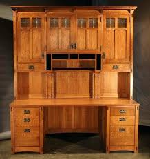 mission style computer desk mission style desk hutch style computer desk beautiful craftsman