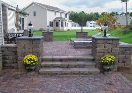 Brick Paver Patio Cost Gorgeous Brick Paver Patio Cost Backyard Decorating Suggestion