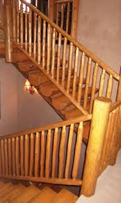 custom log rails u2013 log stairs colorado topnotch logworks com