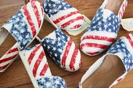 How To Paint American Flag American Flag Toms Shoes Laquist