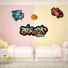 wallstickers folies graffiti set wall stickers graffiti set wall stickers