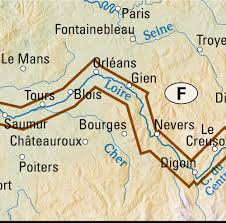 Orleans France Map by Map Eurovelo6 Cycle Route France Maps And Directions At Map