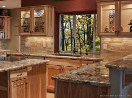 rustic kitchen design ideas the 25 best hickory kitchen cabinets ideas on hickory