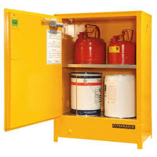 flammable liquid storage cabinet 80 litre heavy duty indoor flammable liquid storage spill ready