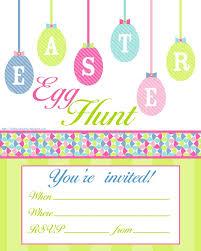 8 best free easter egg hunt invitations images on