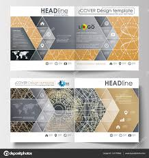 business templates for square design brochure magazine flyer
