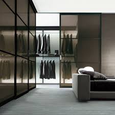 modern dressing room with closet magnificent home interior design