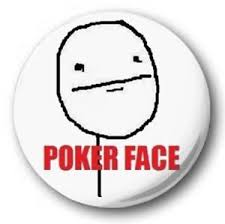 Meme Emoticon Face - poker face meme 25mm 1 button badge rage comic troll face alone