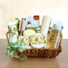spa gift basket orchid spa gift basket wine shopping mall