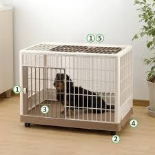 crate training amazon com richell pet training kennel pk 830 dog potty