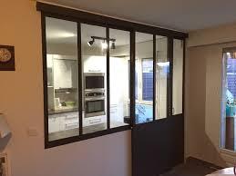 verriere interieur cuisine verrière intérieure cuisine séjour coulissante industrial