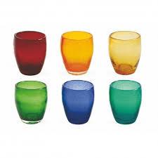 bicchieri vetro villa d este acapulco set 6 bicchieri acqua in vetro 2179593