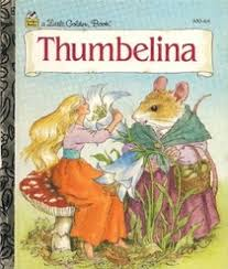 thumbelina golden book hans christian andersen palmer