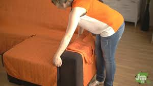retapisser un canapé d angle couvre canapé d angle avec accoudoirs indépendants