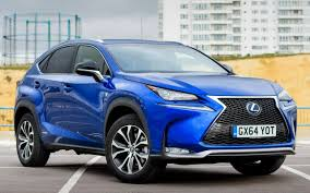 blue lexus lexus nx review a different and impressive take on the suv